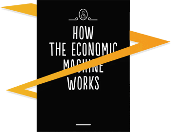 "Buchcover ""HOW THE ECONOMIC MACHINE WORKS"""