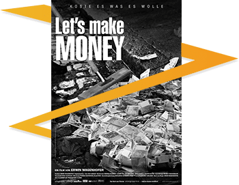"Buchcover ""Let´s make MONEY"""